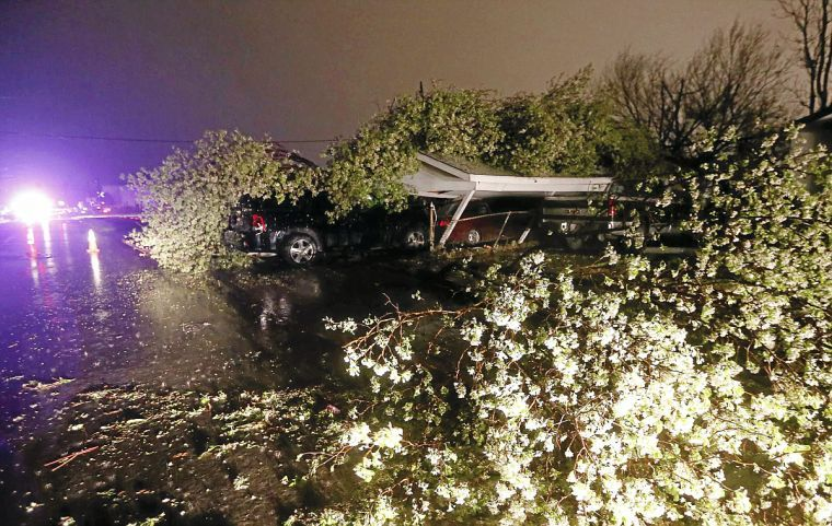 Photo Gallery View Storm And Damage Photos From Wednesday
