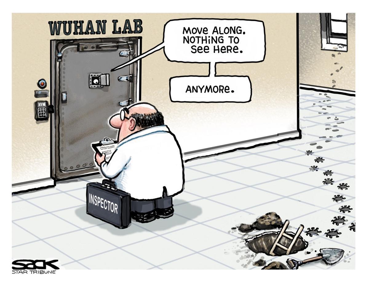 Cartoon: Wuhan Lab by Steve Sack