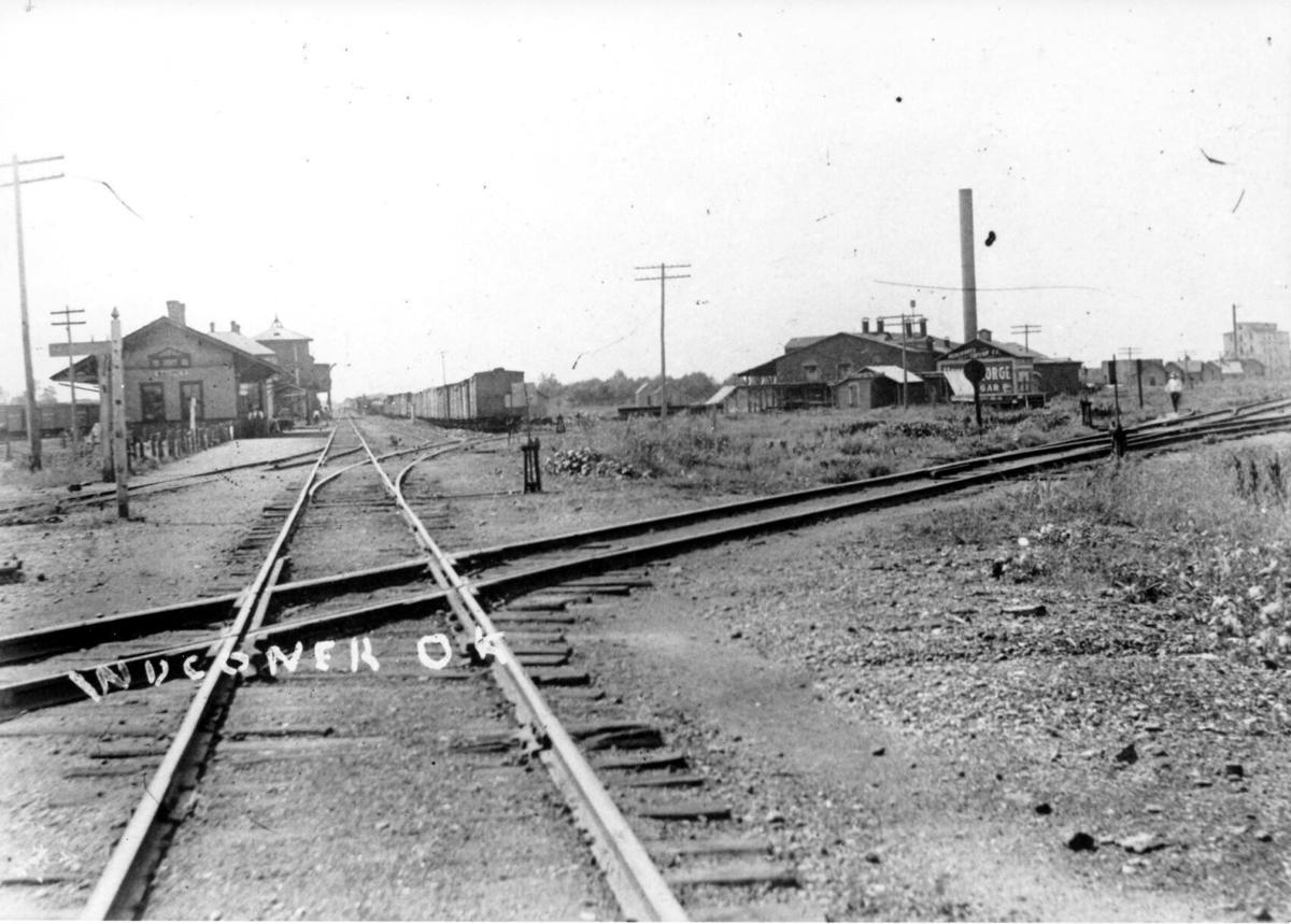 Original shot of depot in Wagoner
