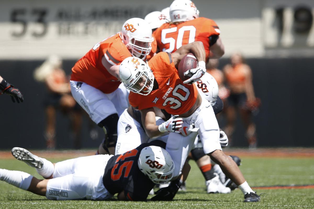 OSU spring game superlatives: Chuba Hubbard makes the play ...