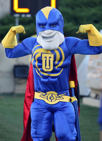 Captain Cane is Tulsa's superhero mascot | Traditions | tulsaworld.com