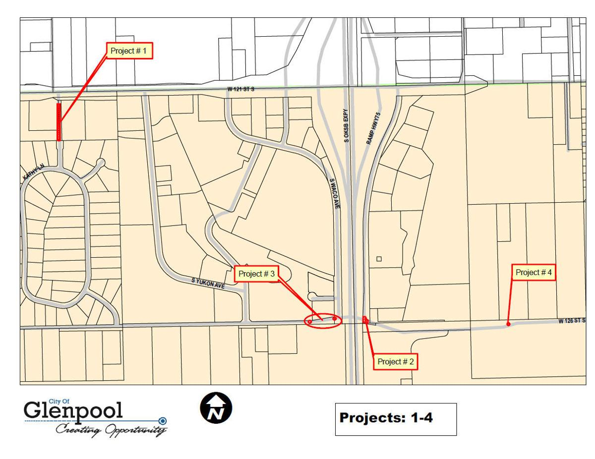 Dozens Of Road Projects Set For Glenpool This Fall Glenpool Tulsaworld Com