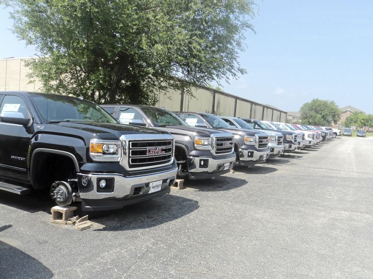 Patriot Gmc Bartlesville >> 76 wheels stolen from vehicles at Bartlesville dealership | Bartlesville News | tulsaworld.com