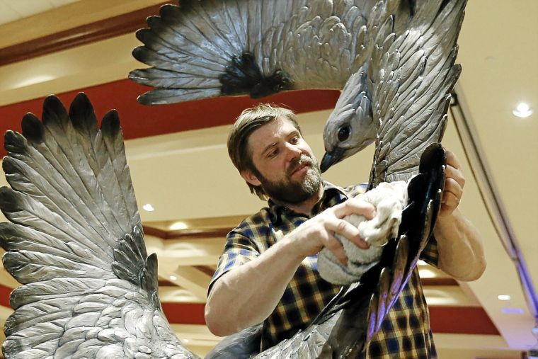 NatureWorks monument honoring state bird featured at ...