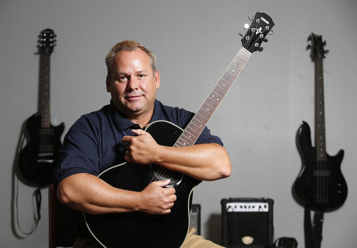 Guitar therapy: Alcohol sabotaged country artist Scott McCoy's