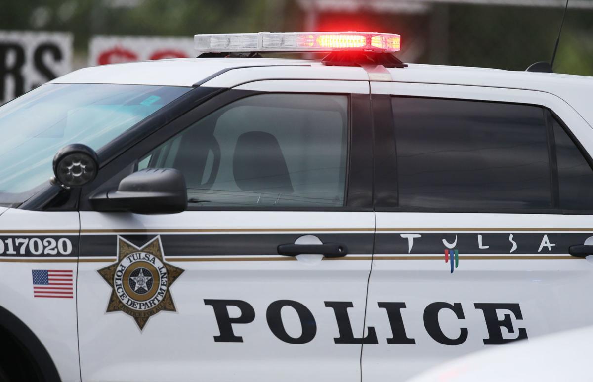 Tulsa police car