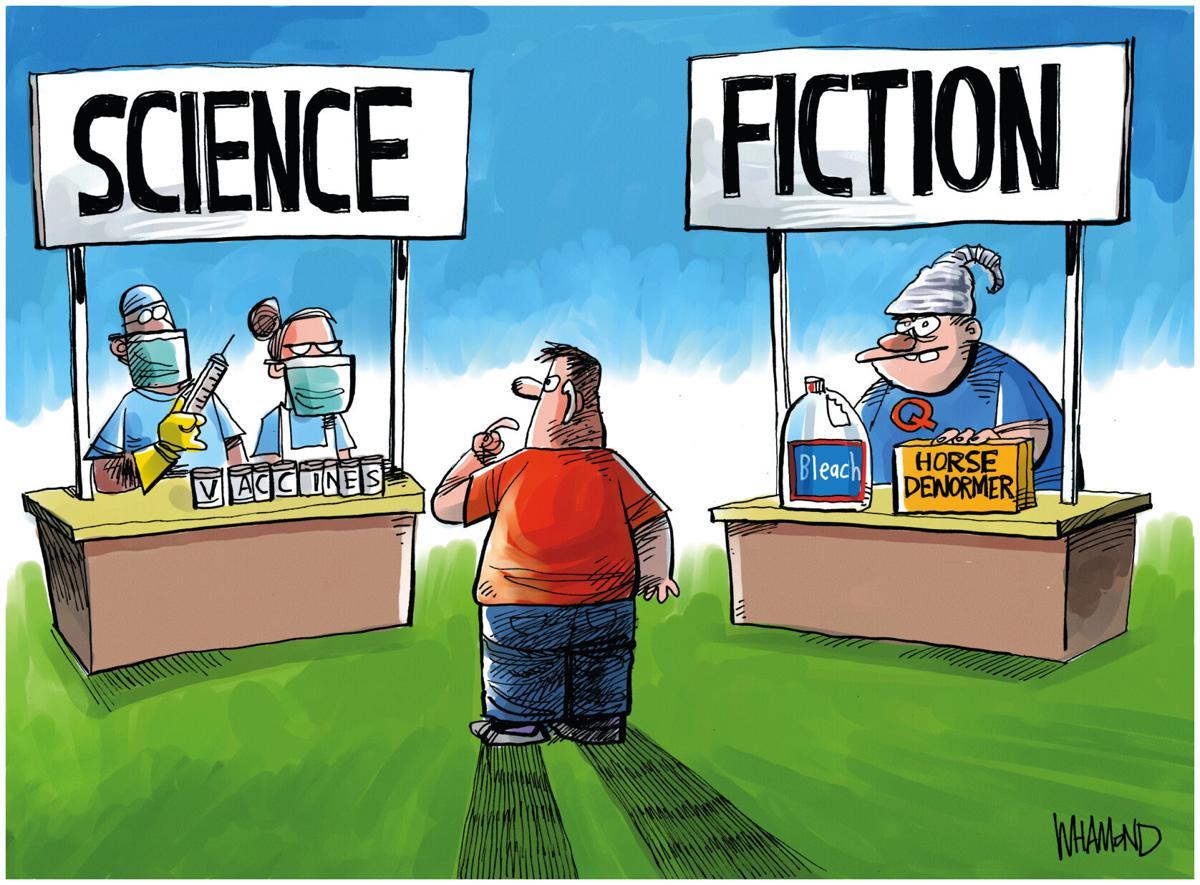 Cartoon: Science Fiction by Dave Whamond