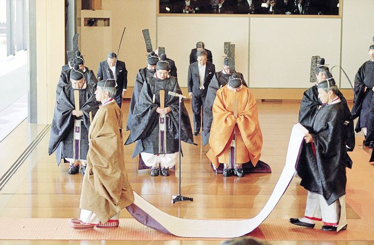 An analysis of the thousand of years of happy reign be thine in the japanese national anthem