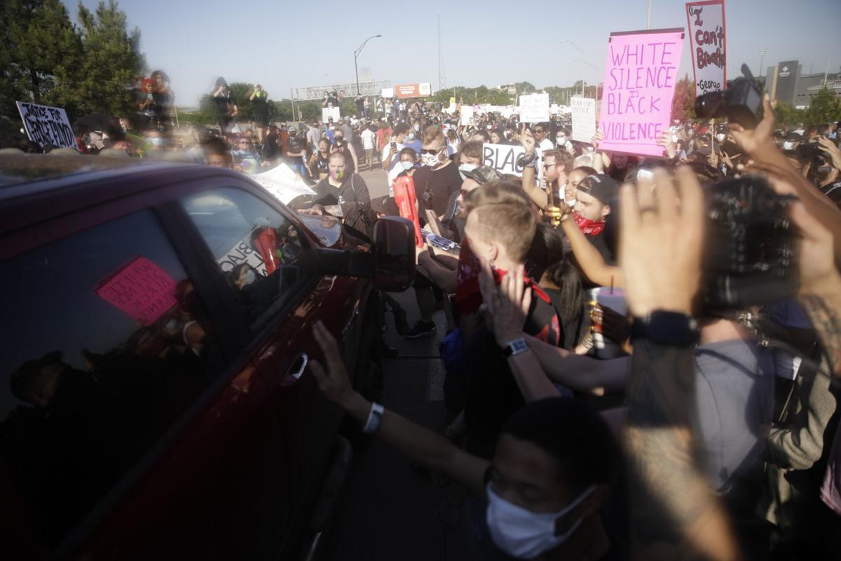 Black Lives Matter protest in Tulsa