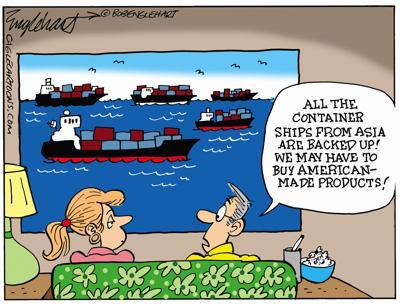 Cartoon: Buy American by Bob Englehart