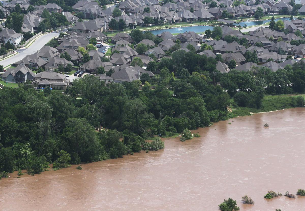 Flooding Aerial
