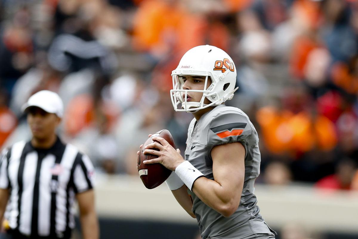 Big 12 Media Days Now A Veteran And Face Of The Program Mason Rudolph Takes Center Stage In Dallas Osu Sports Extra Tulsaworld Com