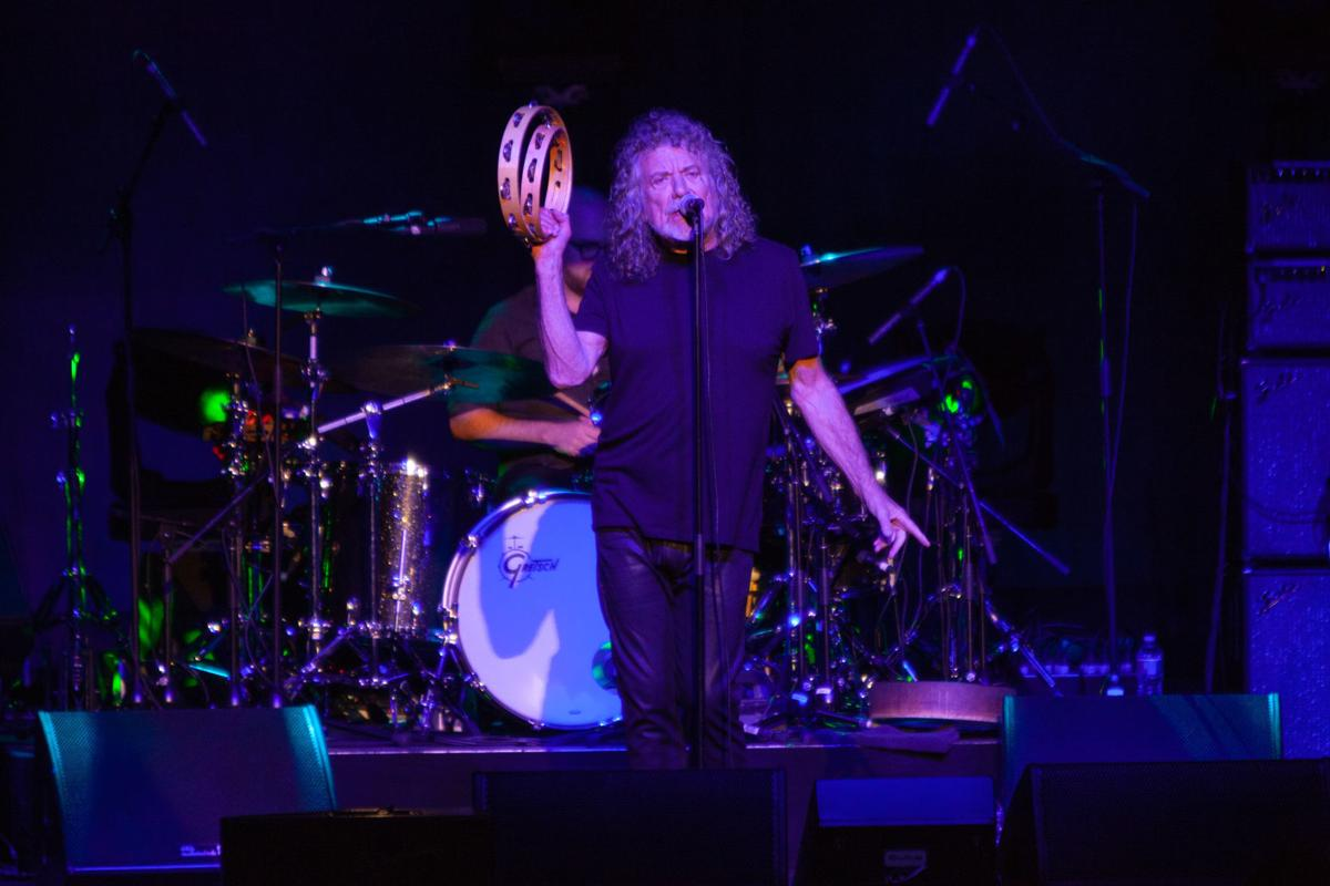 Robert Plant And The Sensational E Shifters Perform At Tulsa S Brady Theater On Sept 21 2018 Cody Mulcahy For World