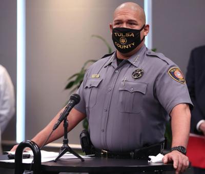 Tulsa County Sheriff Vic Regalado