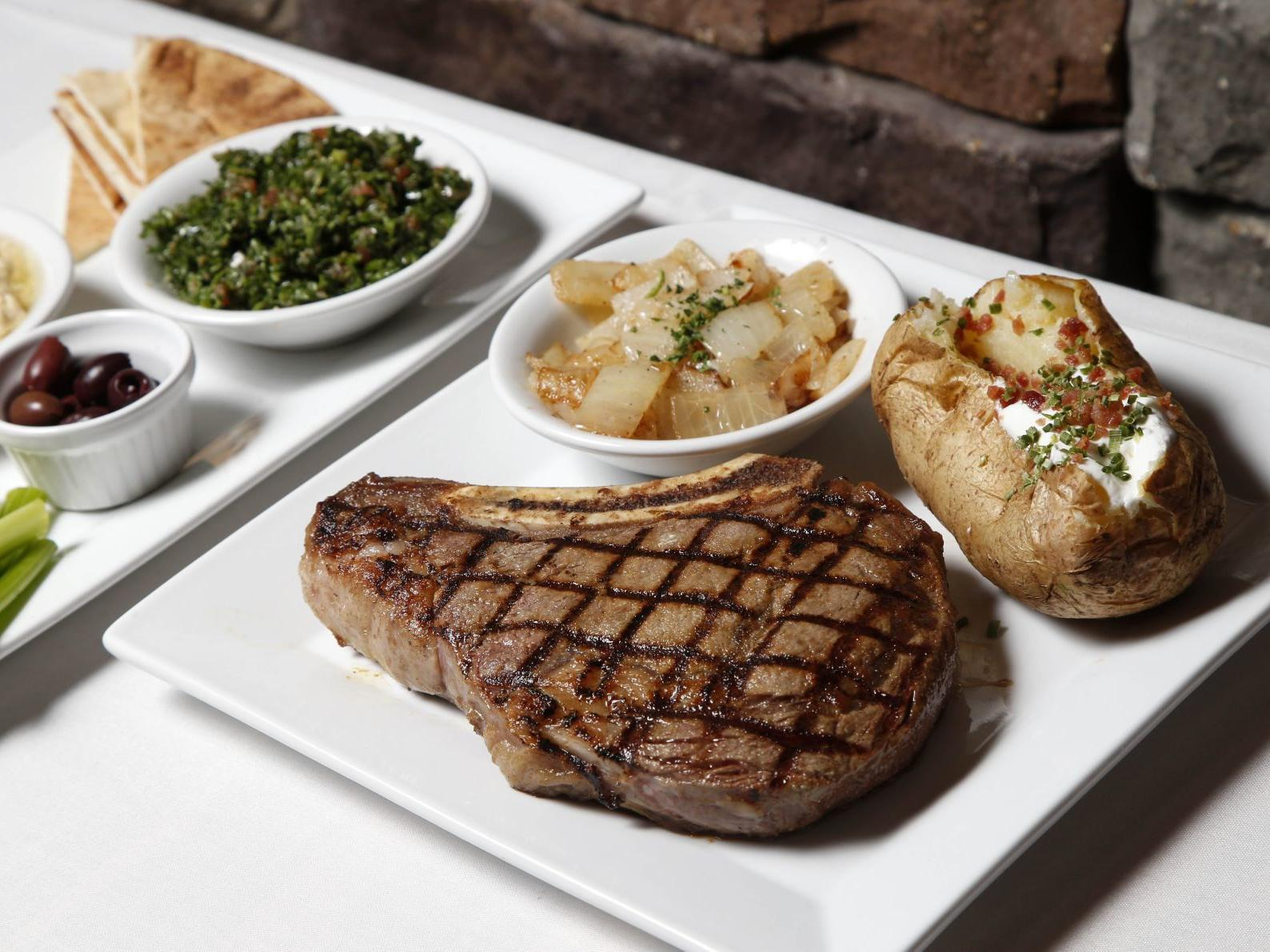 Review: Famous Steakhouse adds Lebanese flair to traditional ...