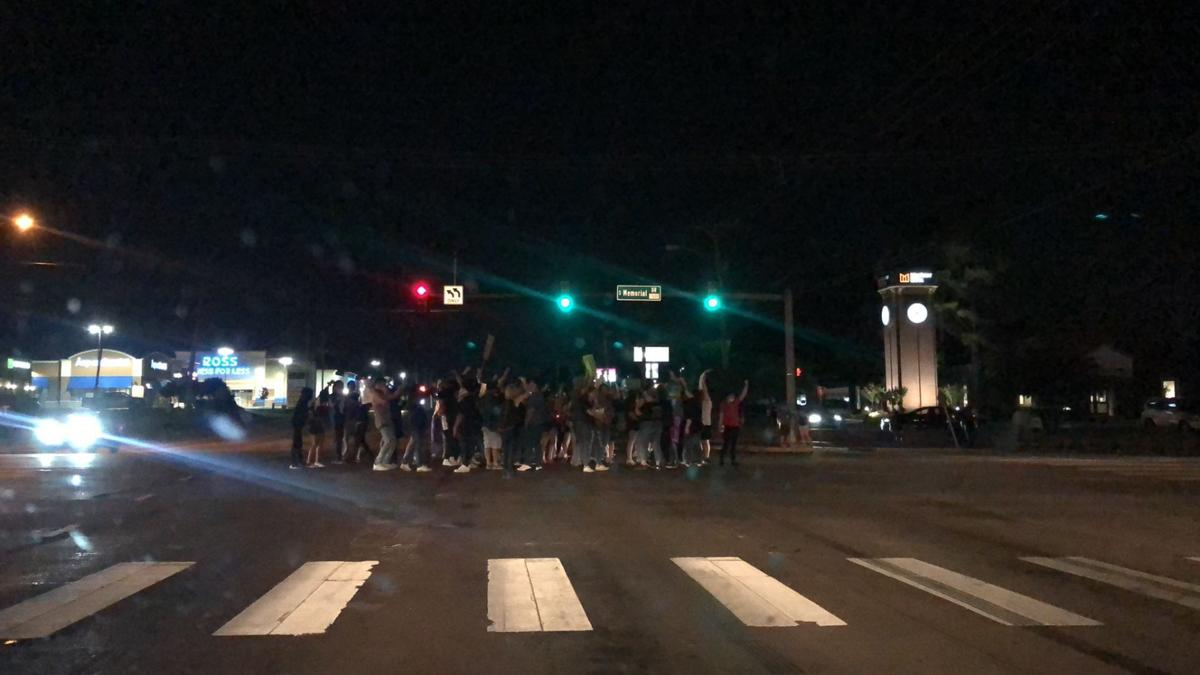 71st Memorial protest Tuesday 2