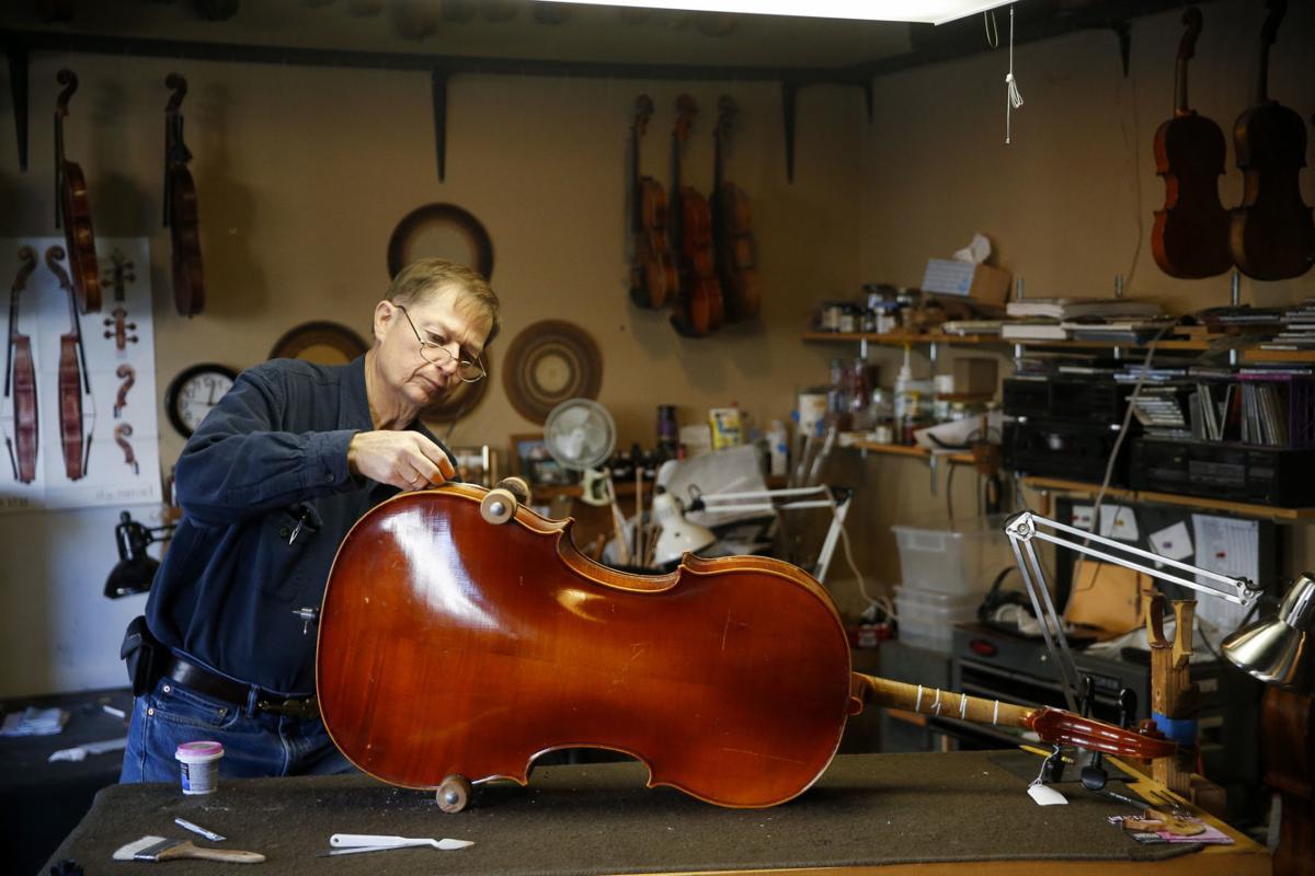 Workforce: Tulsa Violin Shop keeps instruments in good
