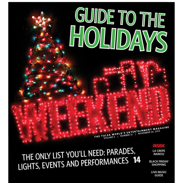 weekend magazine cover - Christmas Events In Boston 2014