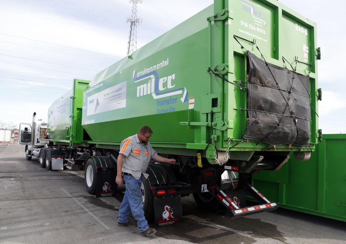 Recycling to the rescue trucking company s tulsa based corporate sustainability division gaining steam