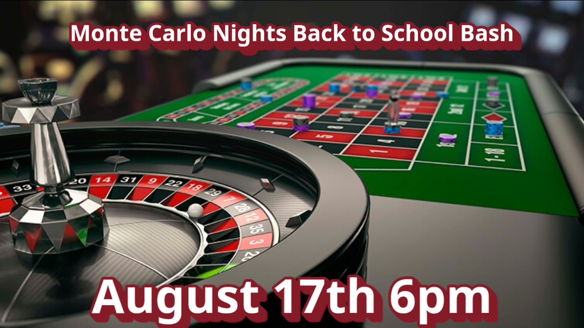 Monte Carlo Casino Nights Back To School Bash