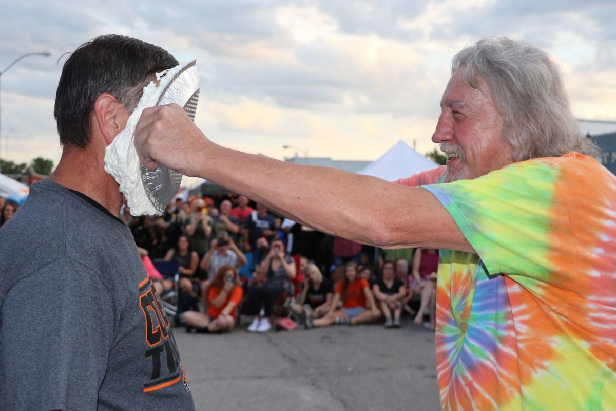 Fall Festival Promotion Pie in the Face