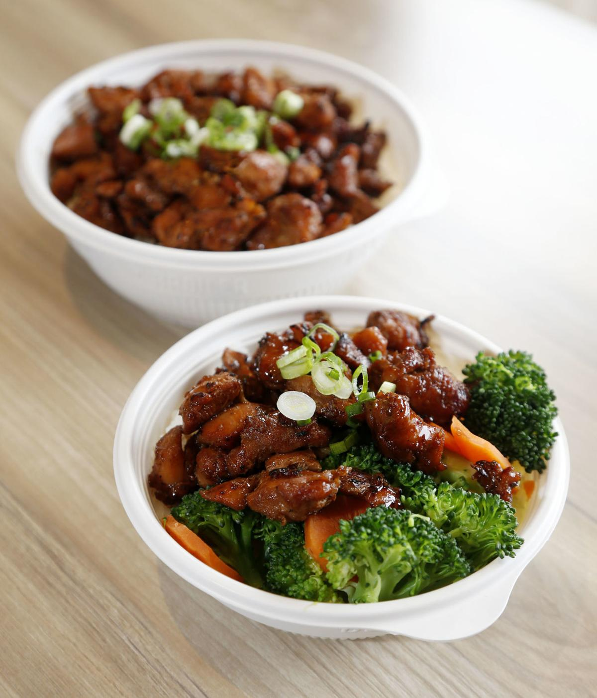 Flame Broiler chicken bowls
