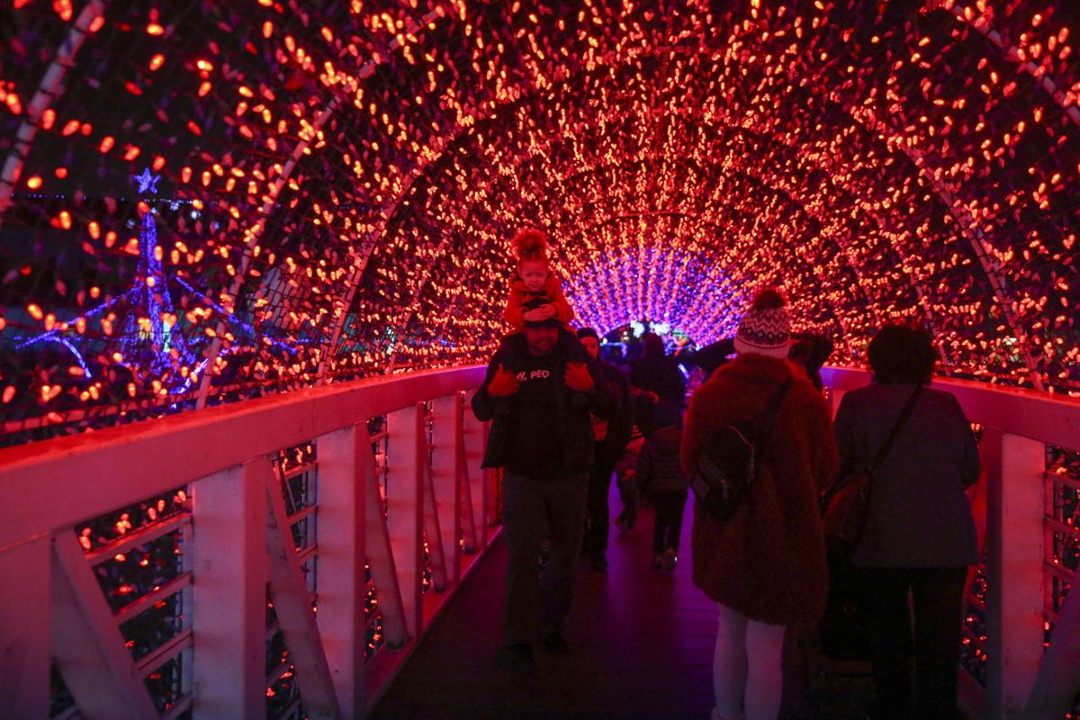 Rhema Christmas Show 2020 John Klein: Lighting Rhema for annual Christmas display is four