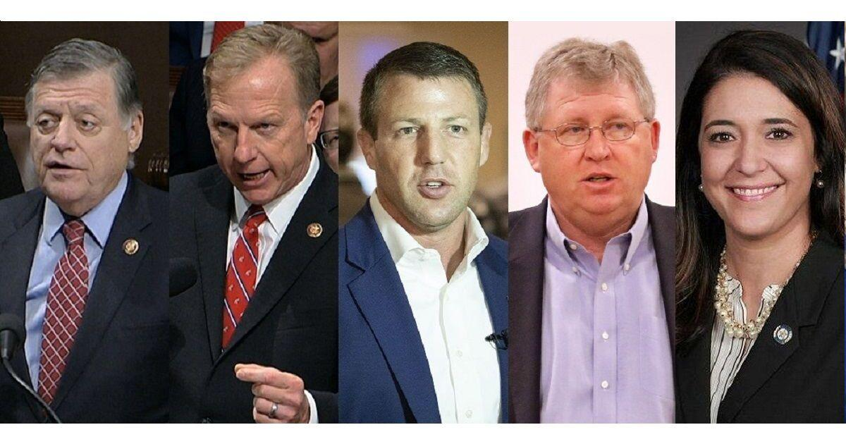 Oklahoma's five house members (2021 version)