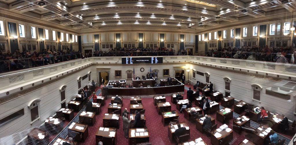 Oklahoma Senate floor