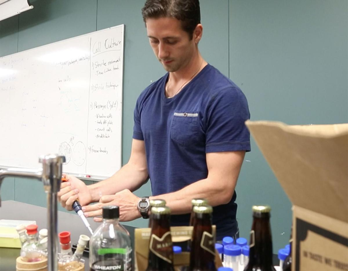 what the ale university of tulsa and marshall brewing team up for