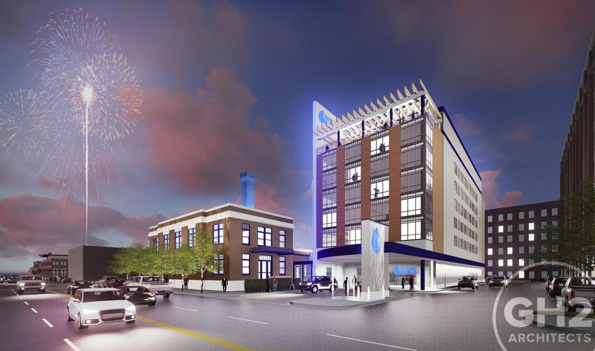 Hotel Indigo Coming To Santa Fe Square In Downtown Tulsa