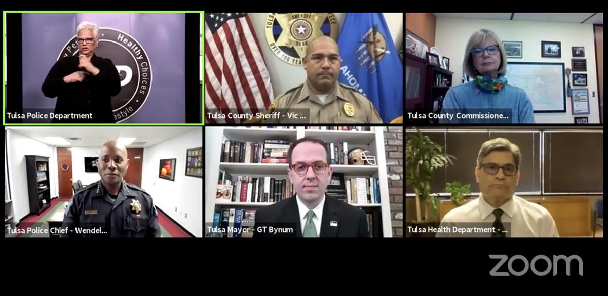 Tulsa Zoom news conference