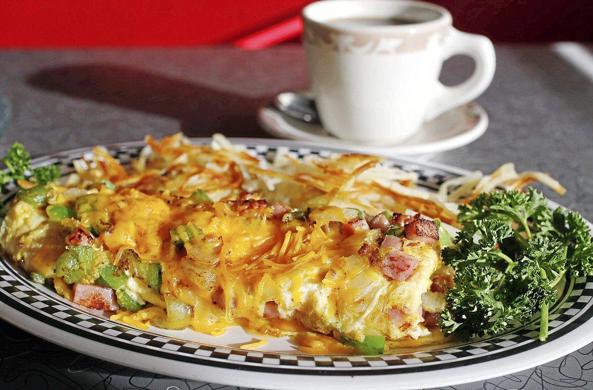 Superbowl Foods Denver omelet