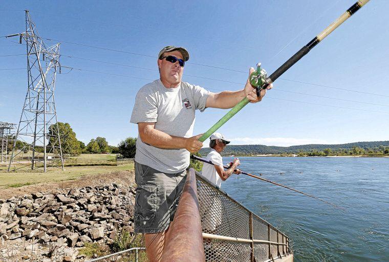 State to mark 50 years since lake eufaula 39 s dedication by for Lake eufaula fishing report
