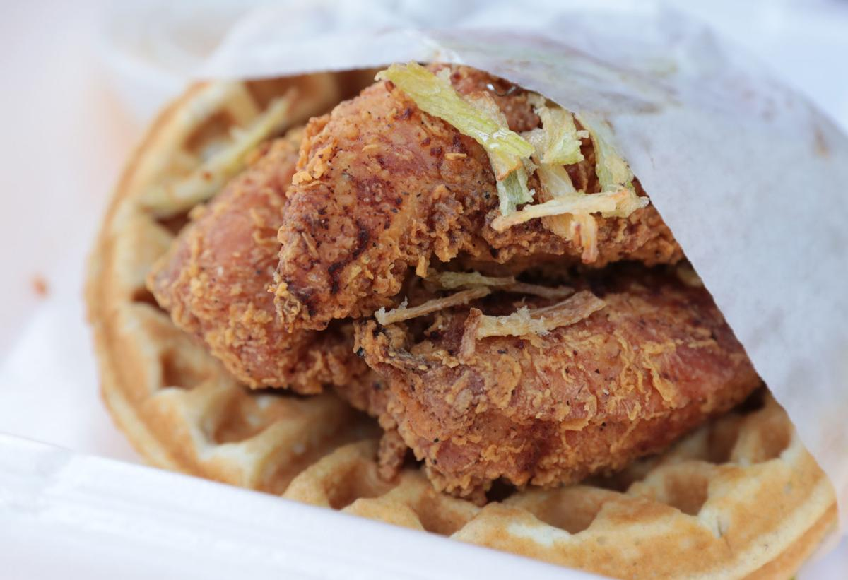 Chicken and Waffles from Waffle That (copy)