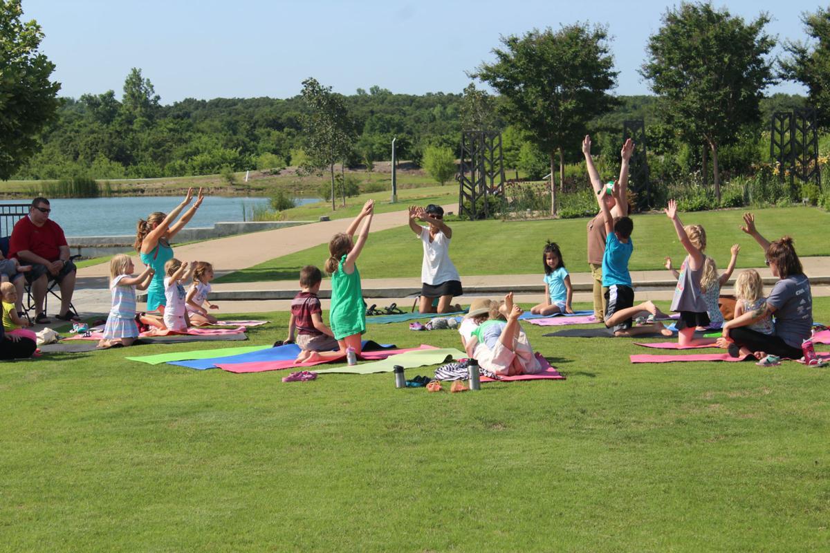 Yoga Story Time at Tulsa Botanic Garden