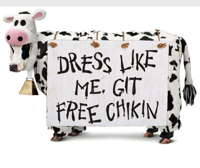 Chick fil A Inc Cow
