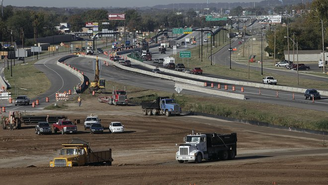 Interstate 44 widening expected to conclude in early 2014