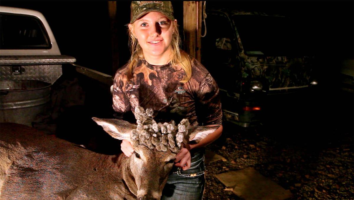 Girl 16 Takes Rare Cactus Doe First Day Of Oklahomas Youth
