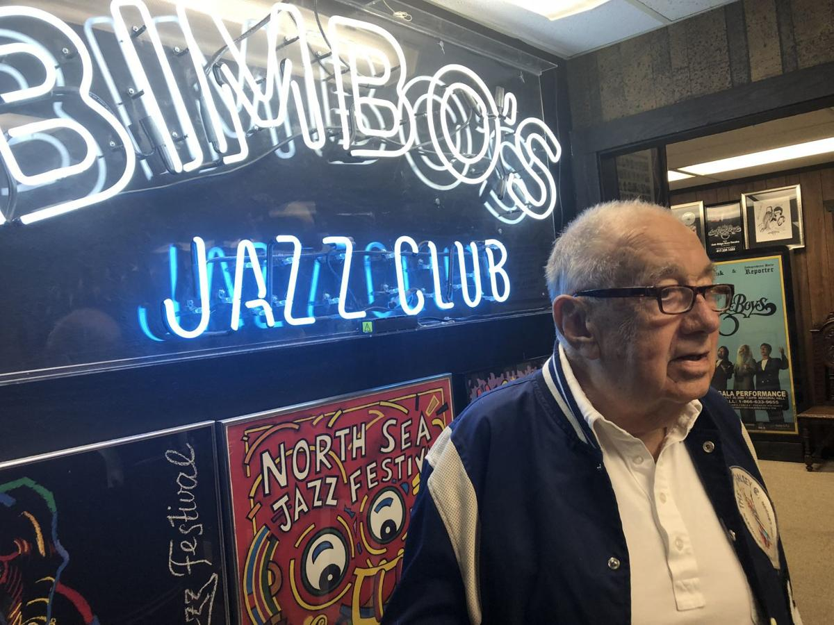 Bimbo's Jazz Club sign