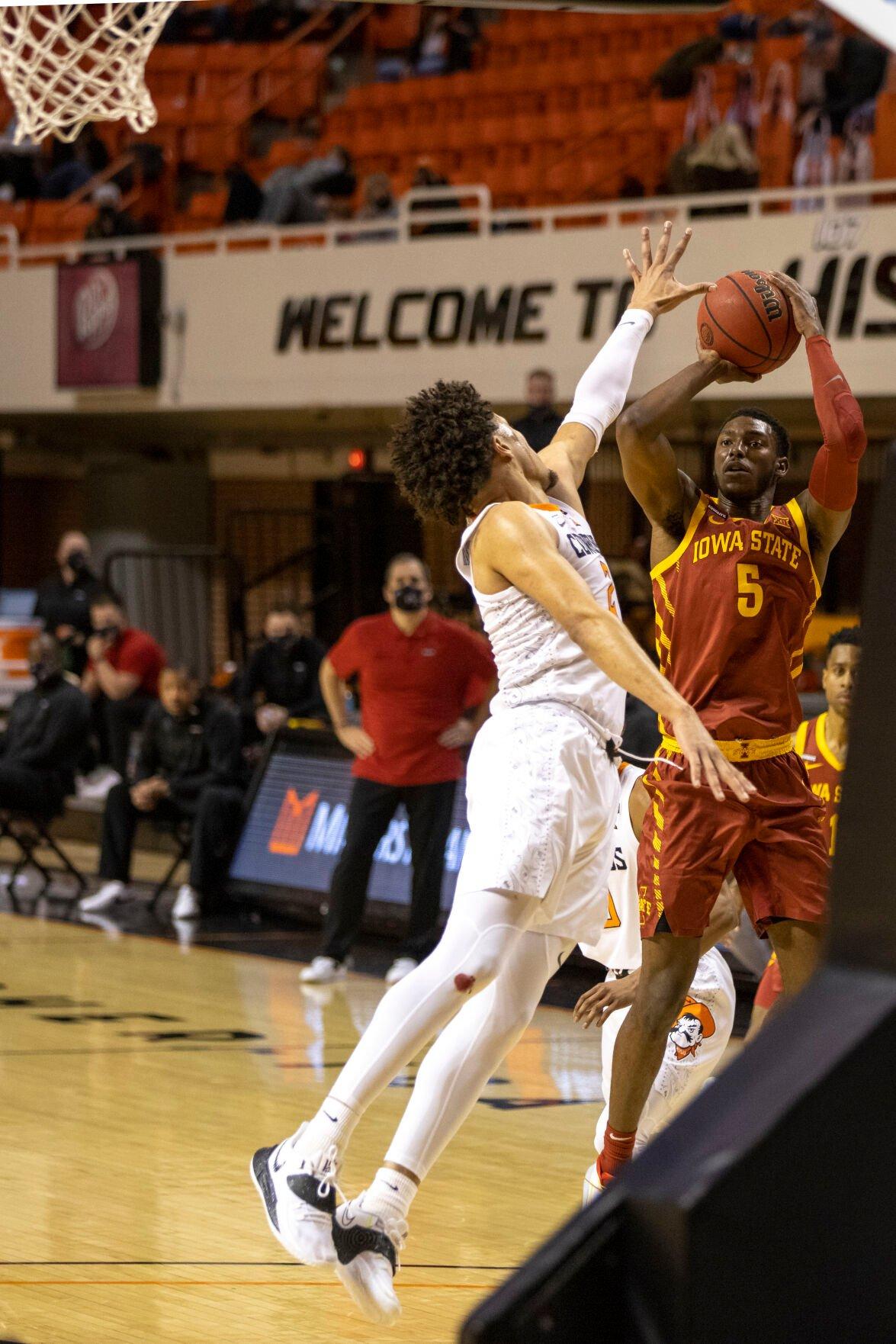 Iowa St Oklahoma St Basketball