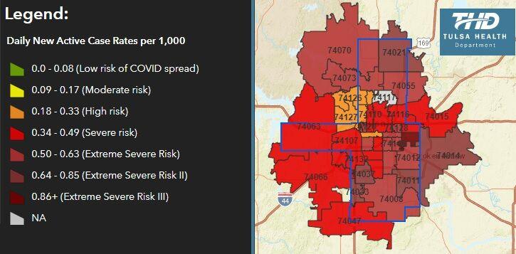 COVID-19 map dec 18 2020