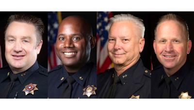 Police chief finalists
