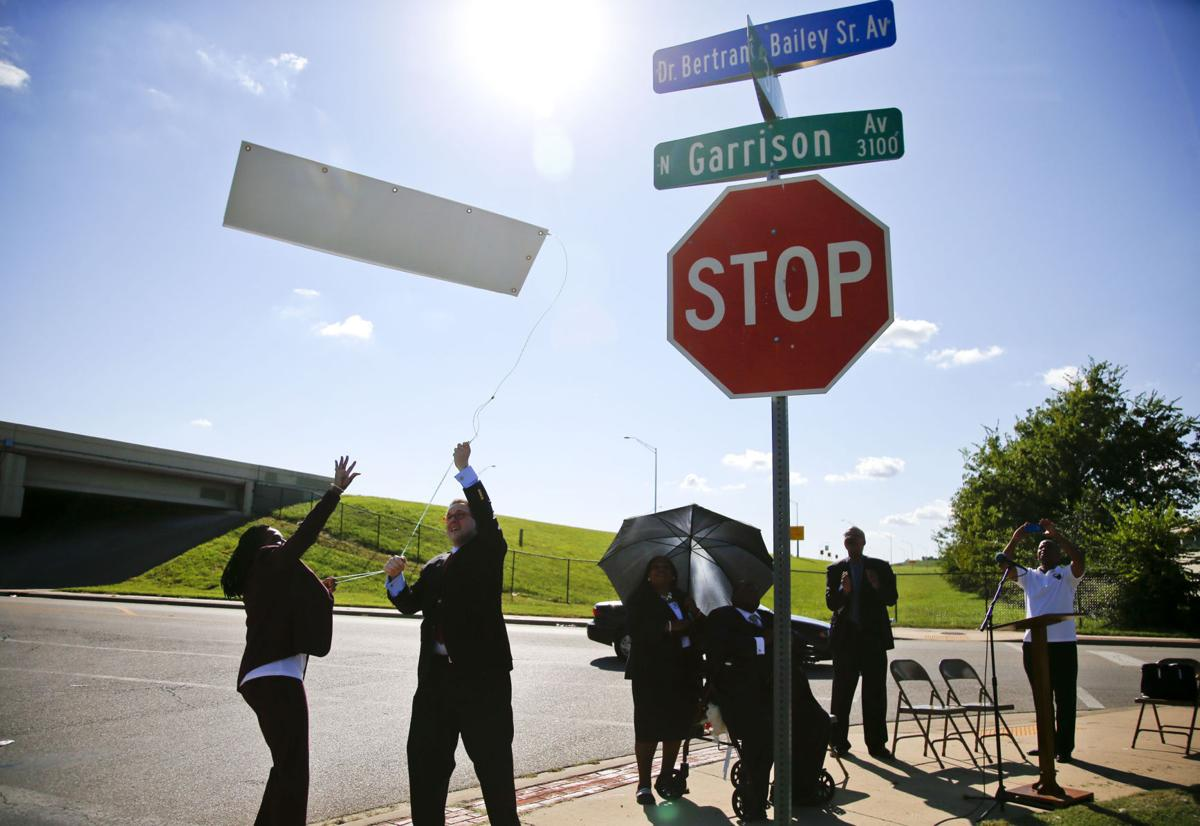 Photo gallery: Street renamed after Dr  Bertrand Bailey Sr