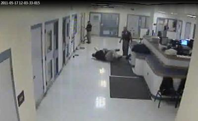 Video released in cherokee county inmates excessive force lawsuit