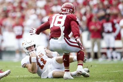 new arrival 02738 c9abc OU football: What happened at halftime of Texas game ...