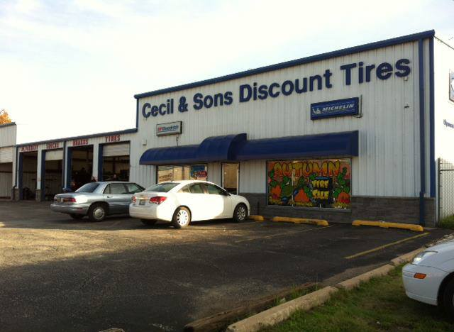Discount Tire Tulsa >> Cecil Sons Discount Tires Sand Springs Automotive Services