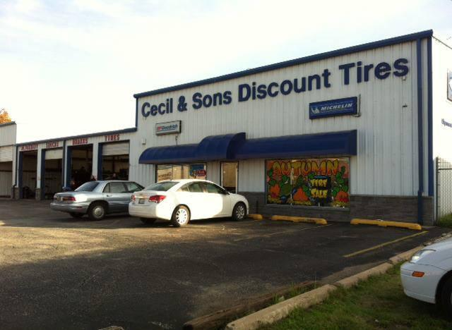Discount Tire Tulsa >> Cecil & Sons Discount Tires - Sand Springs, OK