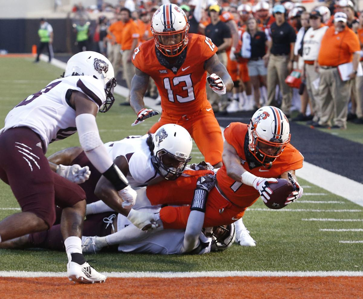 Missouri State at OSU: Cornelius throws for five touchdowns, as