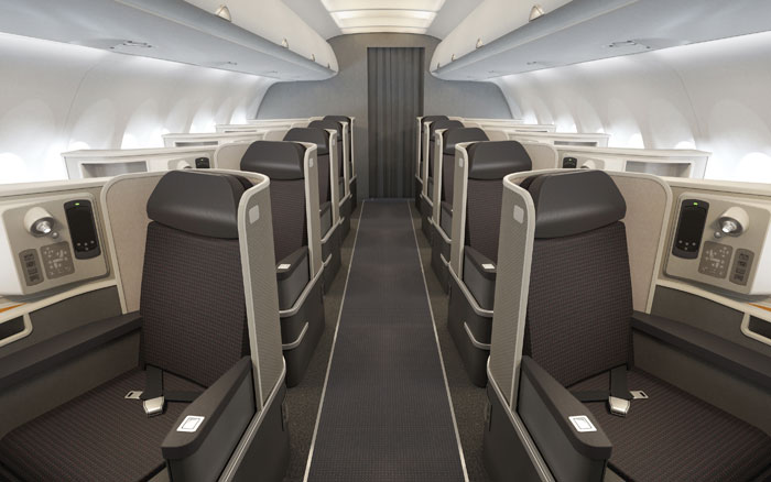 Sky writer american airlines gets airbus a321 jet blogs for Air canada pet in cabin